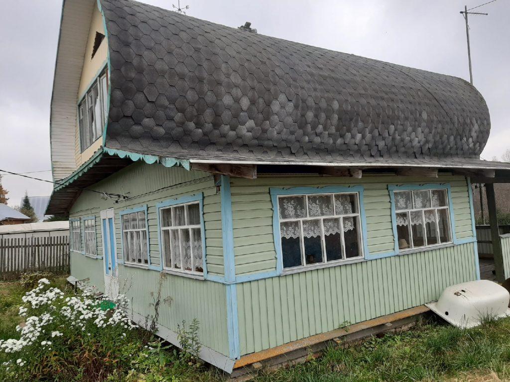 Изображение со страницы: Жилой дом и земельный участок 57.6