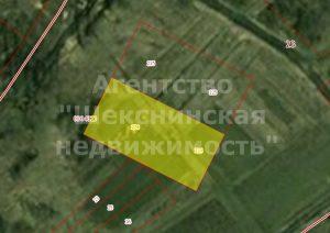 Изображение со страницы: Земельный участок в рп Шексна, ул Спортивная 968