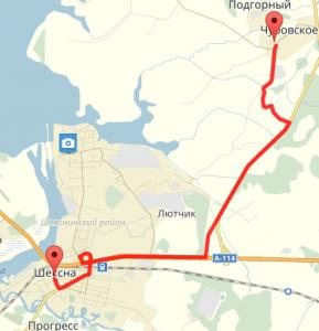 Изображение со страницы: Земельный участок Чуровский с/с 1380